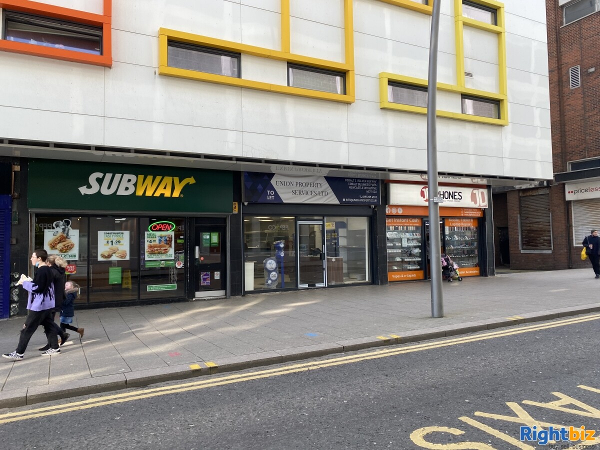 Empty Unit in Sunderland City Centre Prime Location with F&F and A1 classification - Image 8