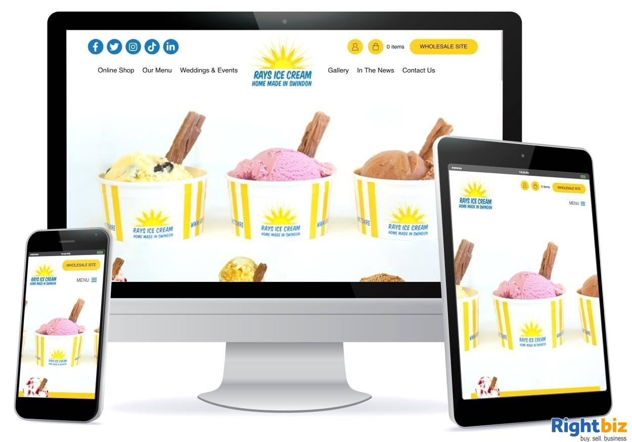 Growing, premium ice cream business - parlour, manufacturing, wholesale, events - Image 8
