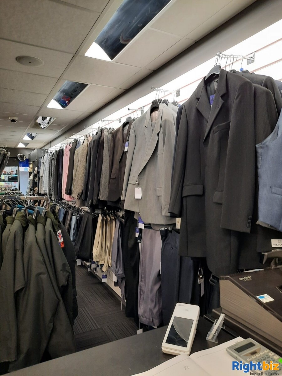 Leasehold clothes shop for sale Winsford Cheshire - Image 8