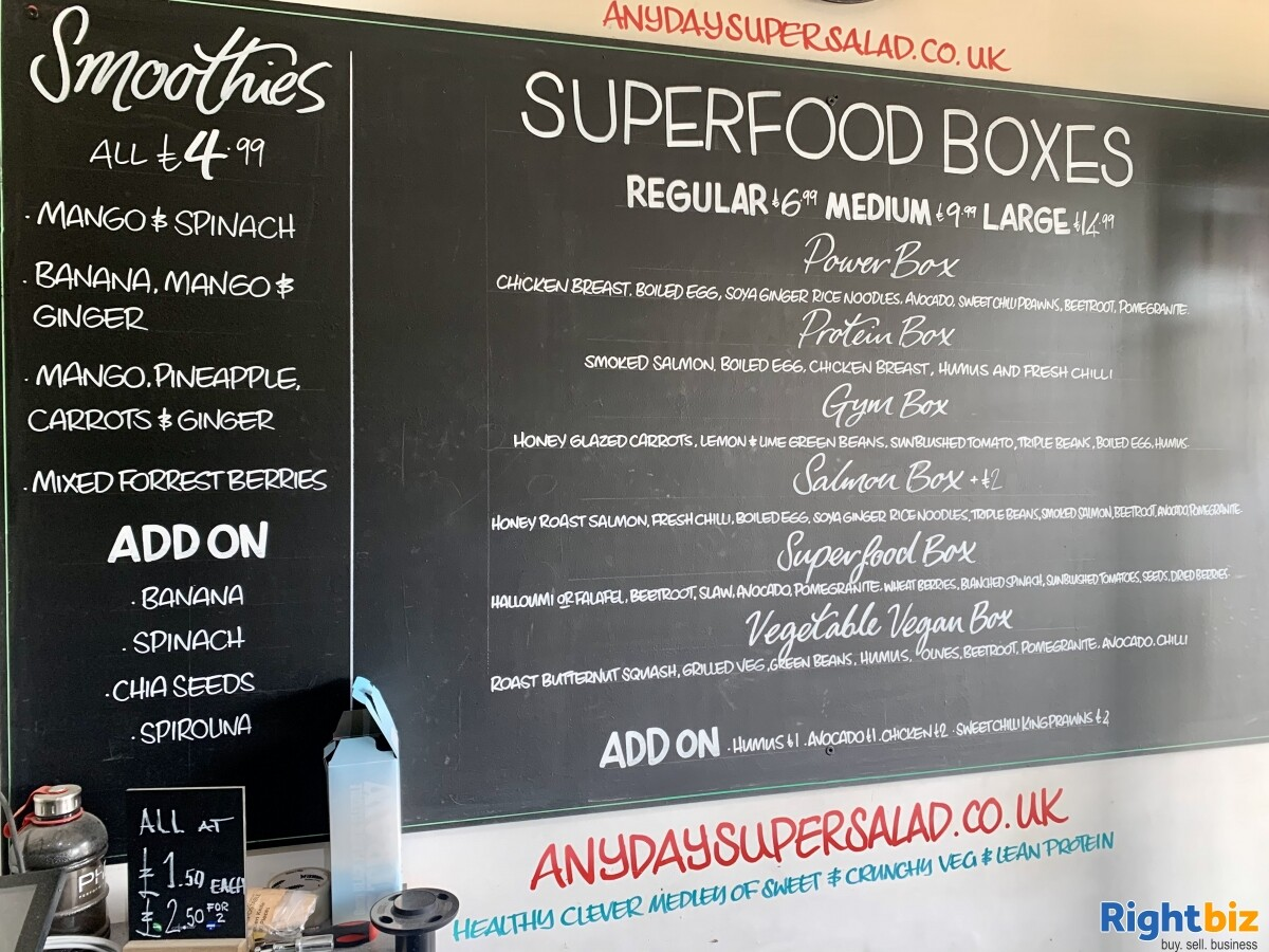 Cosy Sandwich Shop Situated in Chingford, Essex - Image 8