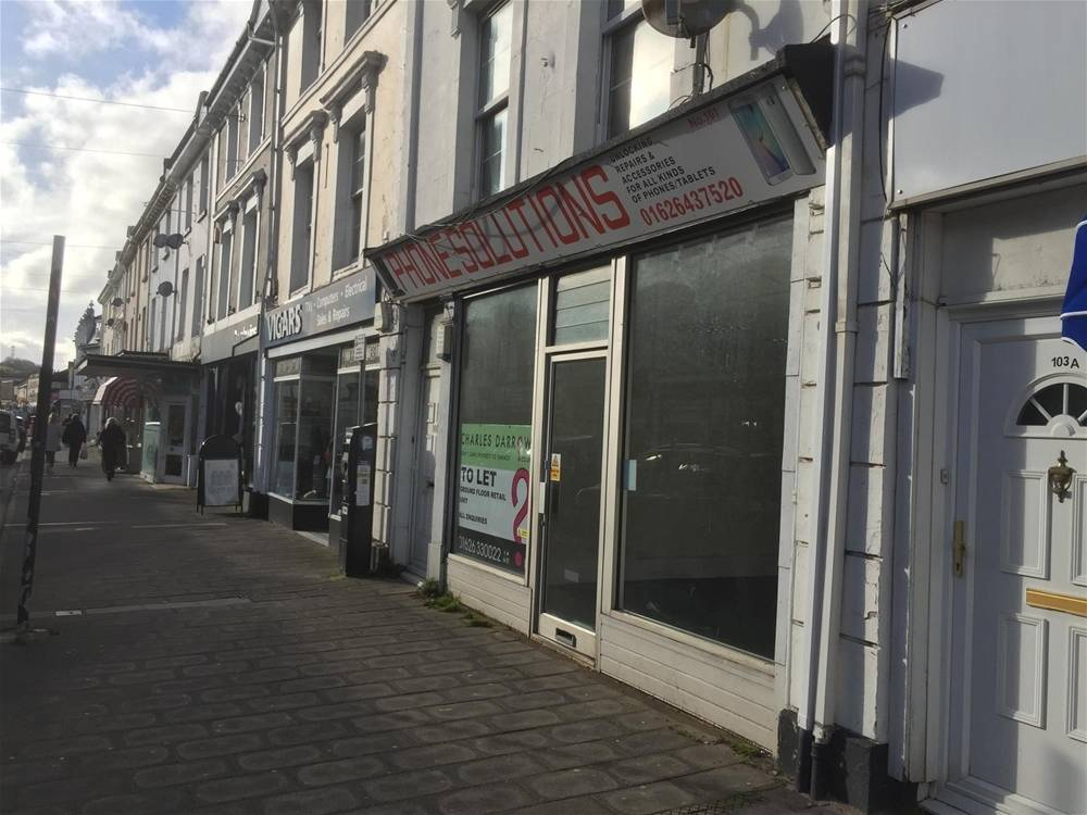 Town Centre Retail Premises For Sale in Newton Abbot - Image 9