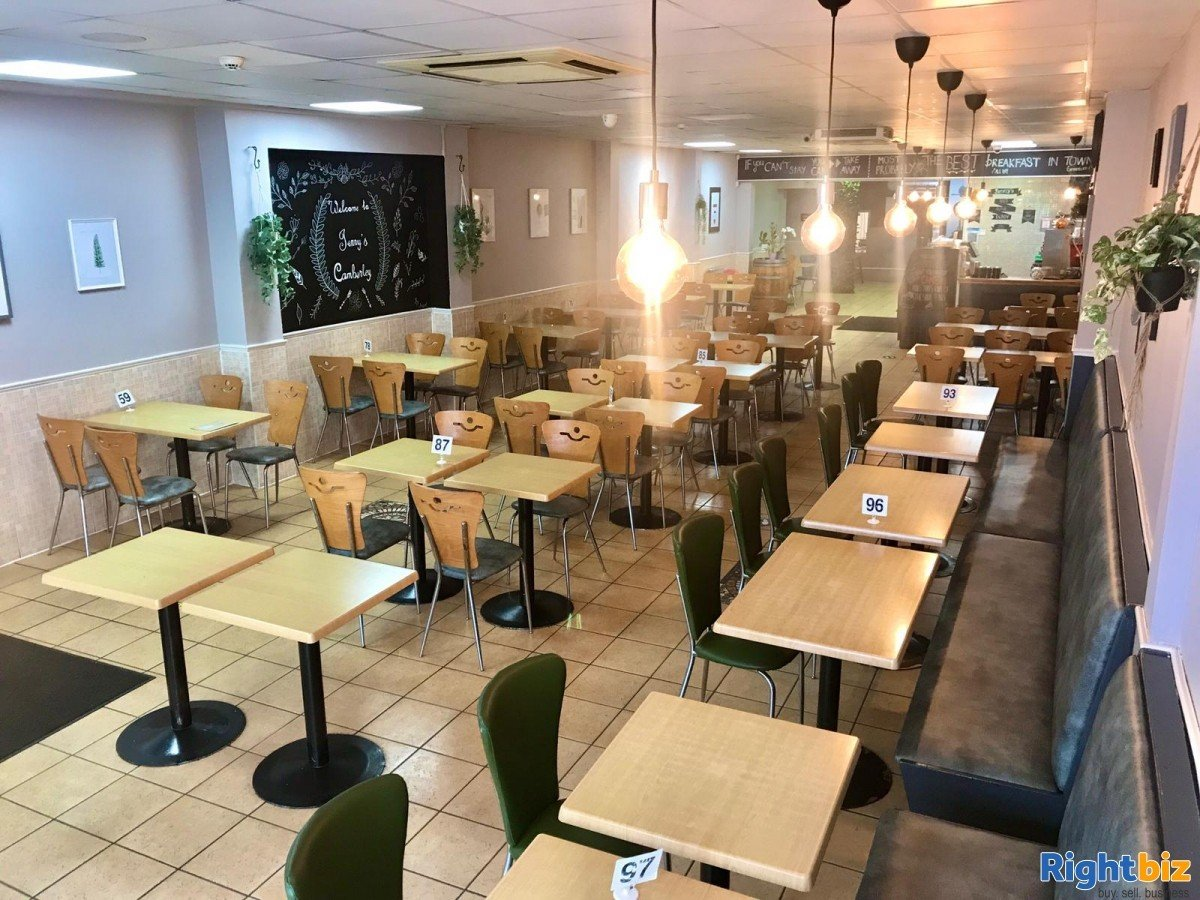 Busy Cafe/Restaurant for sale (120 seats), located on high street, with a large 2 bedroom flat - Image 9