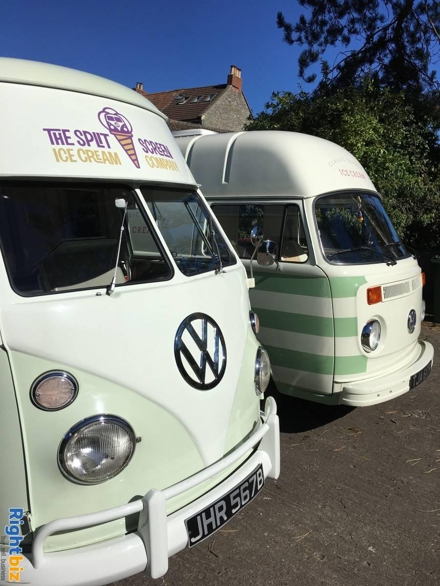 Vintage VW Ice Cream Van business x 3 units - The Split Screen Ice Cream Co. - Image 9