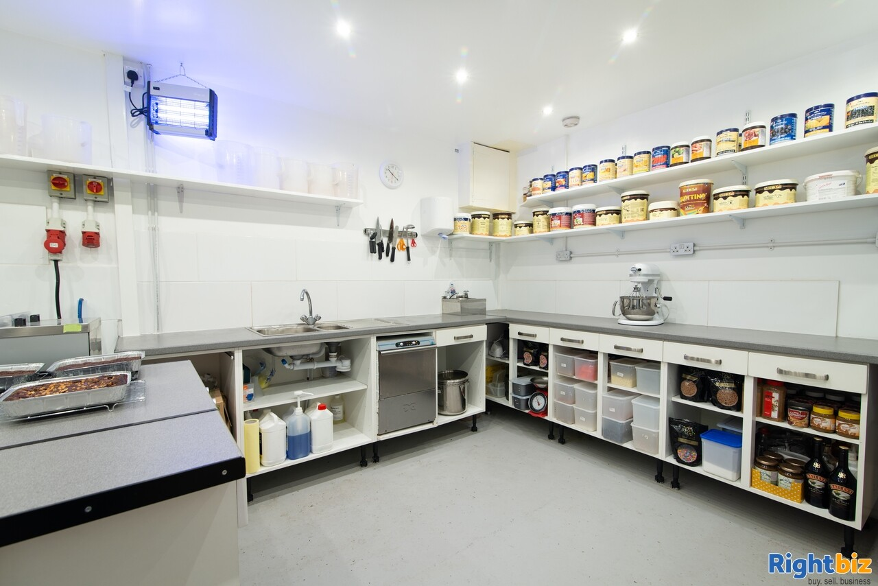 Growing, premium ice cream business - parlour, manufacturing, wholesale, events - Image 9