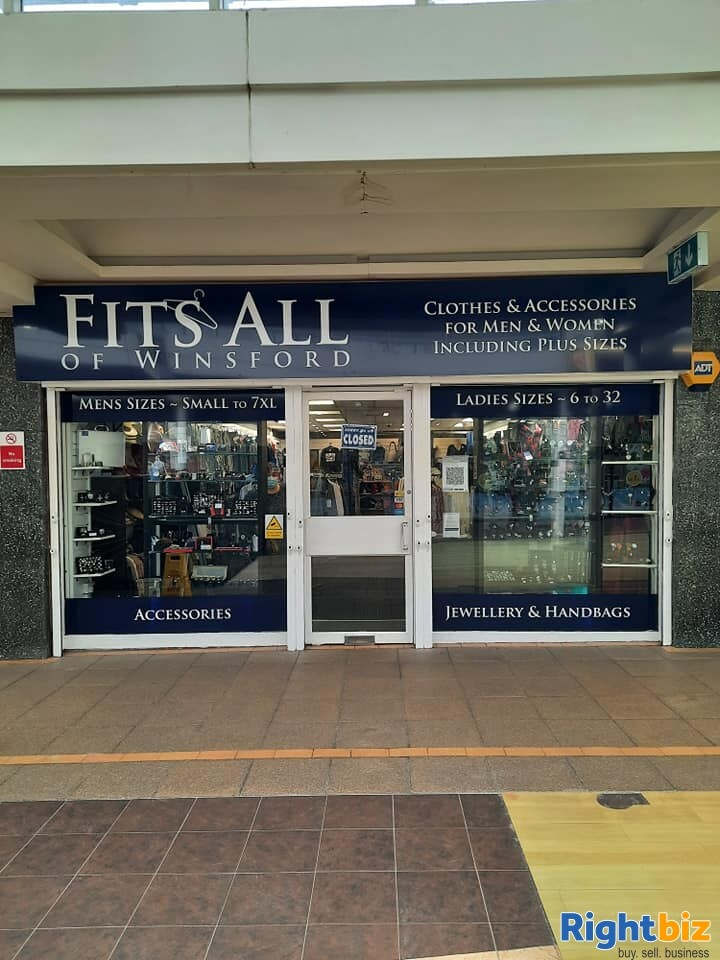 Leasehold clothes shop for sale Winsford Cheshire - Image 9