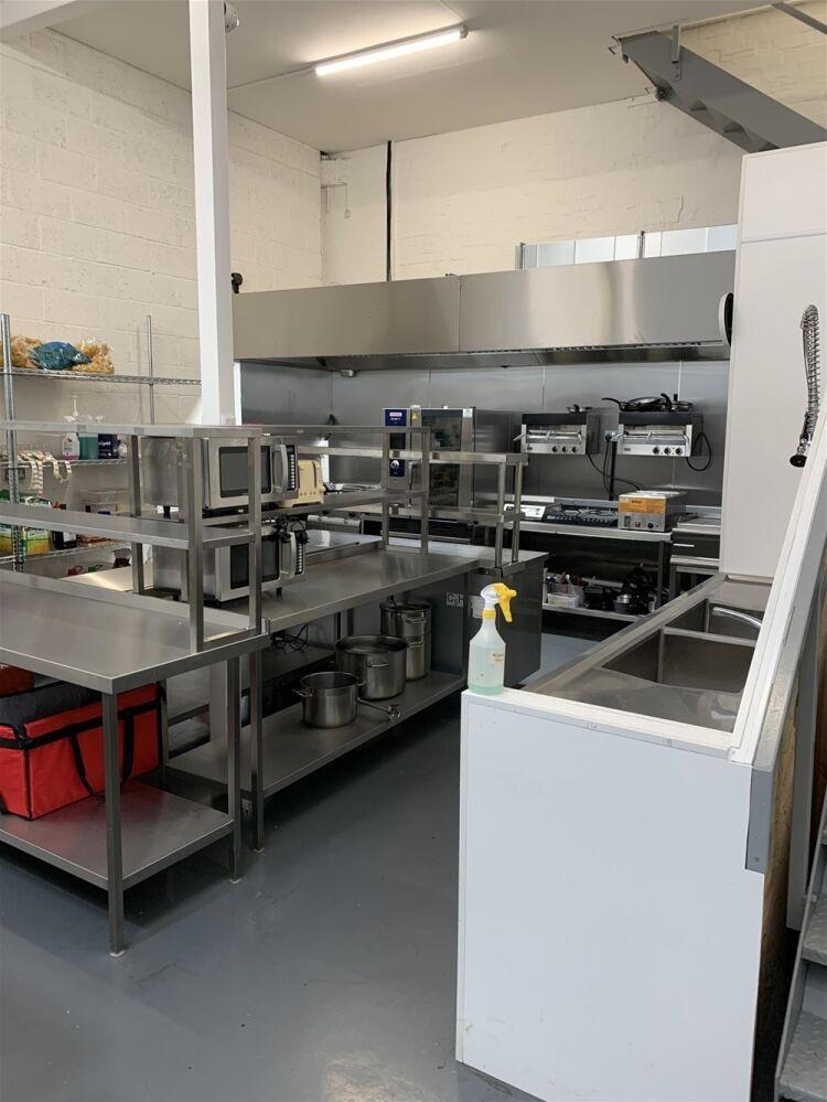Industrial Dark Kitchen Supplying Halal American British Cuisine - Image 9