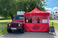 Land Rover Wood Fired Pizza Bus...